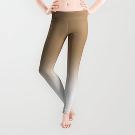 Iced Coffee Ombre Leggings