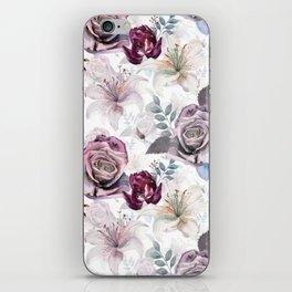 The morning garden iPhone Skin