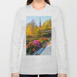 Autumn In Little Venice London Long Sleeve T-shirt