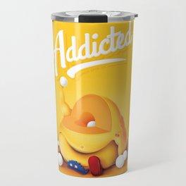 16 Bit Addiction Travel Mug