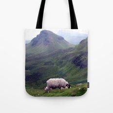 scottish sheeps, isle of skye. Tote Bag