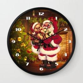 Santa Claus 3 Wall Clock