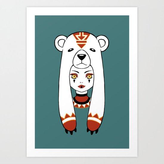 Polar Tribe Art Print