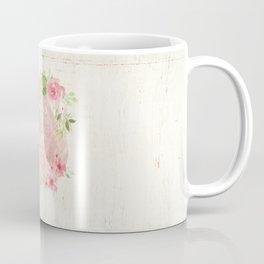 Typography A Mothers Heart Coffee Mug