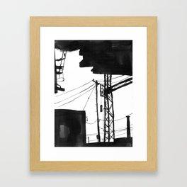 Railway IX Framed Art Print