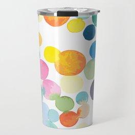 Polka dot bubble candy crush Travel Mug