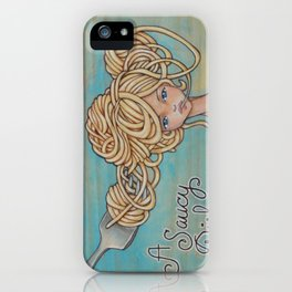 A Saucy Dish iPhone Case