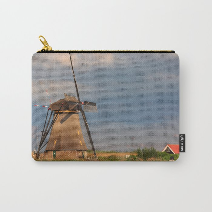 Windmill Of Kinderdijk Carry-All Pouch