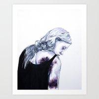 T-ment Art Print