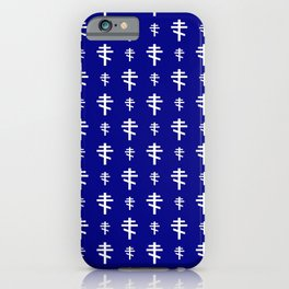 orthodox or russian cross 4 iPhone Case