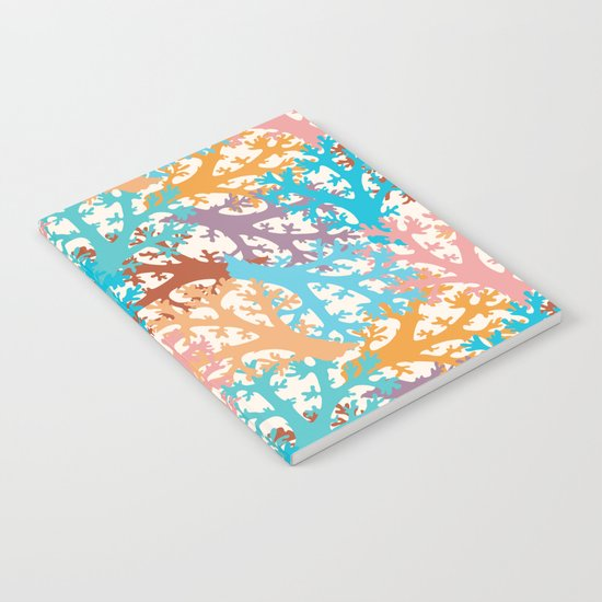 Pastel Marine Pattern 05 Notebook