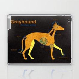 Greyhound anatomy - Grey's anatomy Laptop & iPad Skin