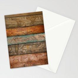 Mapas Stationery Cards