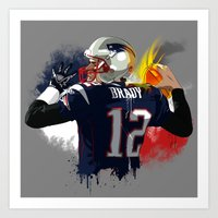 Tom Brady Art Print