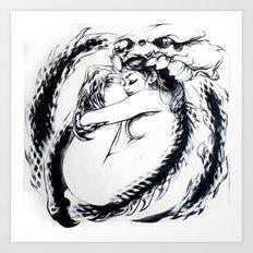 Salamanda Art Print