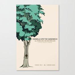 Danielle Ate The Sandwich @ Slowdown Canvas Print