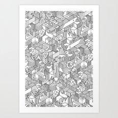 UNHABITATS Art Print