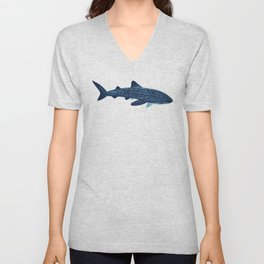 "FINconceivable Still ""Whale Shark"" Unisex V-Neck"