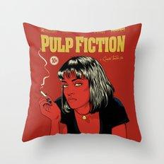 P. F. Throw Pillow