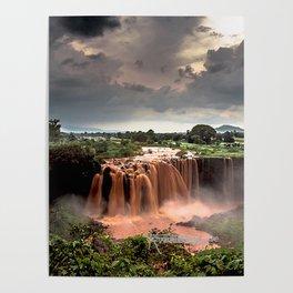 Nile Falls Poster