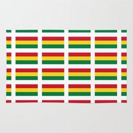 flag of bolivia 2 -bolivian,boliviano,bolivian,Sucre, La Paz. Rug