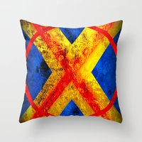 cyclops Throw Pillows featuring Cyclops by Some_Designs