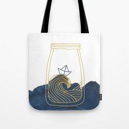 Bottled Sea Tote Bag