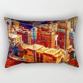 Tommy's Town Rectangular Pillow