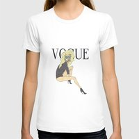 vogue T-shirts featuring VOGUE by LydiaSchüttengruber