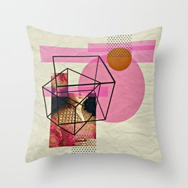 Complications Throw Pillow