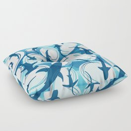 Shark bubble Floor Pillow