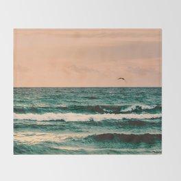 Escape to Paradise Throw Blanket