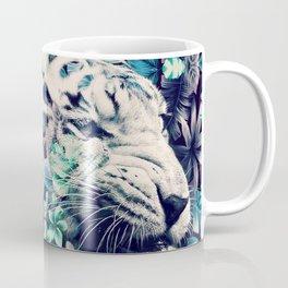 Floral Tiger Coffee Mug