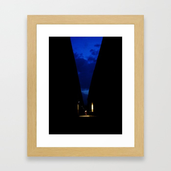 Dancing Alone Framed Art Print