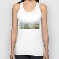 milan Tank Tops featuring Milan - Underground by Sandra Liarte