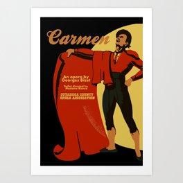 Carmen Opera (Toreador) Art Print