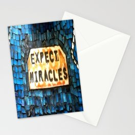 Expect Miracles Stationery Cards