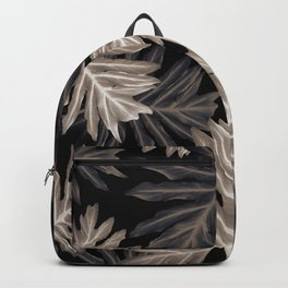 Philo Hope - Tropical Jungle Leaves Pattern #4 #tropical #decor #art #society6 Backpack