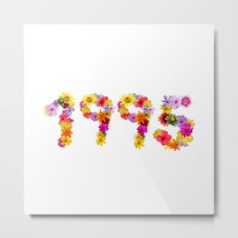 All Color Flower 1995 Metal Print