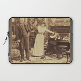 Victorian Stereogram Laptop Sleeve