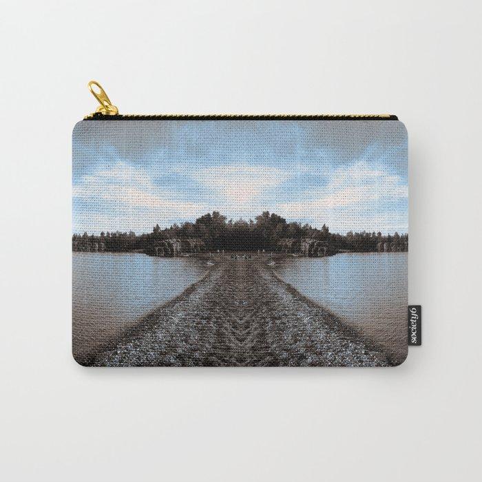 Art Print 1 Lake Superior Mirror 2 [Jordan E. Eismont, Cecilia Lee] Carry-All Pouch