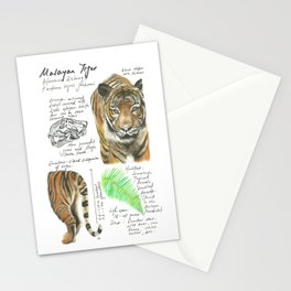 Nature Study: Malayan Tiger Stationery Cards