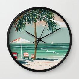 Southern Most Beach Wall Clock