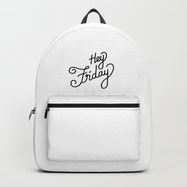Hey Friday   [black] Backpack