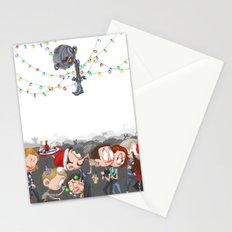 There are CHRISTMAS strings on me... Stationery Cards