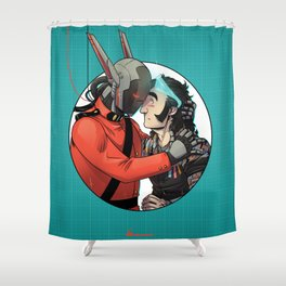 Comic Cover Shower Curtain