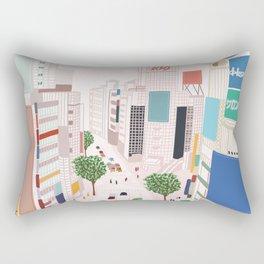 Shibuya 109 Rectangular Pillow