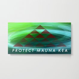 Beyond Mauna Kea Metal Print