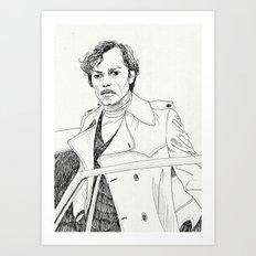 Poupart Art Print