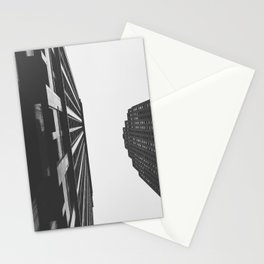 Downtown Detroit Skyscrapers Dime Building and Penobscot Stationery Cards
